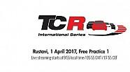 TCR Gürcistan - 1. Antrenmanlar