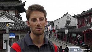 Exclusive: Romain Grosjean on what it's like driving the fastest F1 cars ever