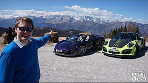 Supercars in the Mountains!