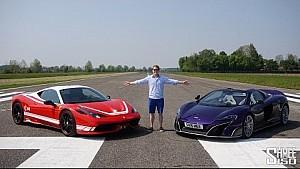 Ferrari 458 Speciale vs McLaren 675LT