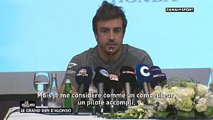 Fernando Alonso parle du défi de l'Indy 500