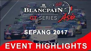 Blancpain Gt series Asia - Sepang 2017 - Özet