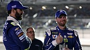Off weekend workouts: Dale did, Jimmie didn't