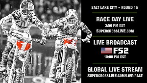Supercross 15. Ayak - Salt Lake City