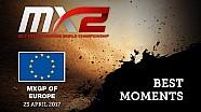 MXGP de Europa, Valkenswaard 2017 MX2 mejores momentos #motocross