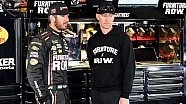 No. 78 crew chief Cole Pearn fined after Bristol