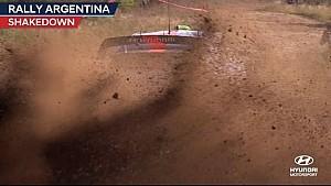 Rally Argentina shakedown - Hyundai Motorsport 2017