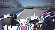 Rusya GP FP3 - Stroll Pist Dışına Çıktı