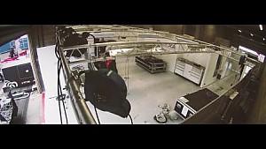 成龙耀莱DC车队车房搭建延时摄影