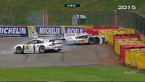 Crashes in WEC 6 Hours of Spa-Francorchamps [part 2]