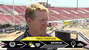 Dunlop Motorcycle Tires Track Conditions Report - Las Vegas - Race Day LIVE - 2017