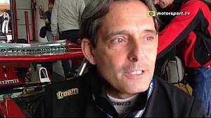 Minardi Day: Alex Caffi sulla Ferrari di Clay Regazzoni