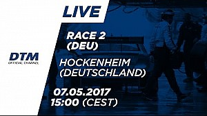 Live: Race 2 (Multicam) - DTM Hockenheim 2017