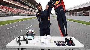 ¿Qué contiene el kit que usa un piloto de F1? ¡Daniel Ricciardo explica!