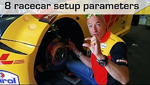 The 8 setup parameters of a racecar, explained by Tom Coronel, WTCC 2017