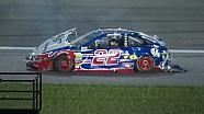 NASCAR: che botto per Logano, Almirola e la Patrick in Kansas!