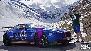 My Aston Martin GT8 attacked Stelvio Pass... and me!!