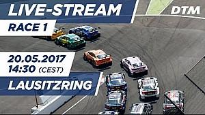 Live: Gara 1 - DTM Lausitzring 2017