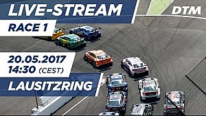 DTM Lausitzring 2017 - 1. Yarış