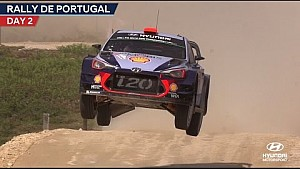 Rally de Portugal day two - Hyundai Motorsport 2017