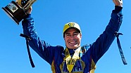Ron Capps races to his fourth straight win