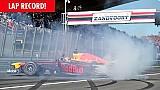 Max Verstappen breekt ronderecord Zandvoort