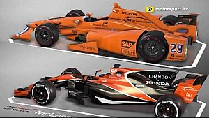 Indy and Monaco: McLaren comparison