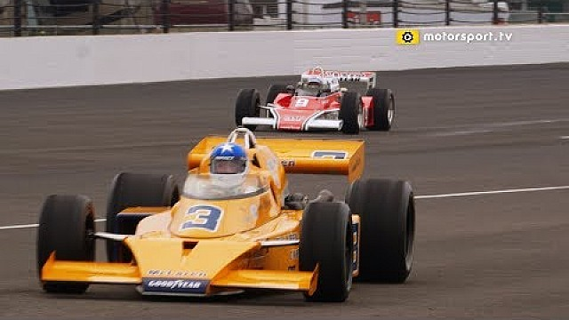 "IndyCar Mario & ""Lone Star JR"" back in McLarens at Indianapolis"