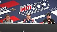 Takuma Sato post Indy 500 victory news conference