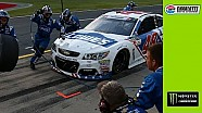 Tensions flare after Erik Jones, Jimmie Johnson close call