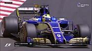 2017 Monaco GP Sıralama - Ericsson Lastik patlatarak kalıyor