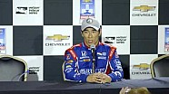 Takuma Sato Verizon P1 Award news conference for Chevrolet Detroit Grand Prix race 2
