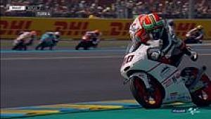 Darryn Binder lolos dari kecelakan di Moto3 Perancis