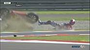 Alex Marquez jatuh terguling di FP MotoGP Argentina