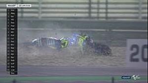 Ianone terjatuh dan gagal raih podium di GP Qatar