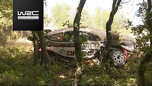Rallye de Sardaigne - Spéciales 1-5