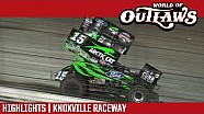 World of Outlaws Craftsman sprint cars Knoxville raceway June 10, 2017 | Highlights