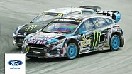 Andreas Bakkerud and Ford Focus RS RX: drive like hell