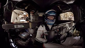 Hotlap with the Porsche 919 hybrid at Le Mans (360° video)