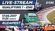 DTM на Хунгарорингу - Кваліфікація гонки 1
