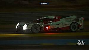 Le Mans 24 Saat 2017 - Toyota # 7 sorun yaşıyor