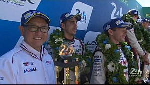 24 Uur van Le Mans 2017 - Het LMP1 podium