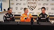 Team Penske news conference at Road America