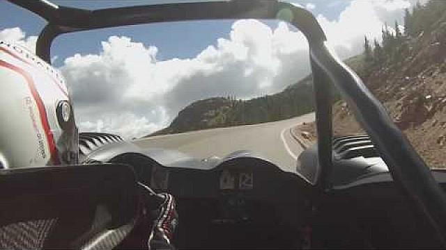 Hillclimb Romain Dumas - Pikes Peak