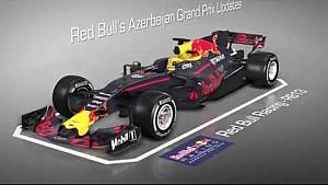 Оновленя Red Bull для Баку - тривимірна анімація