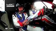 WRC 2017 Polonya Rallisi: Araç üstü Evans SS1