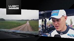 Rally Polonia 2017: a bordo con Ott Tänak