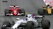 Avusturya GP - Raikonnen'in Pist Dışına Çıktığı An