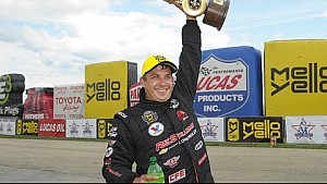 Drew Skillman get his first win of the year