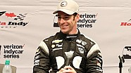 Toronto P1 Award winner Simon Pagenaud news conference